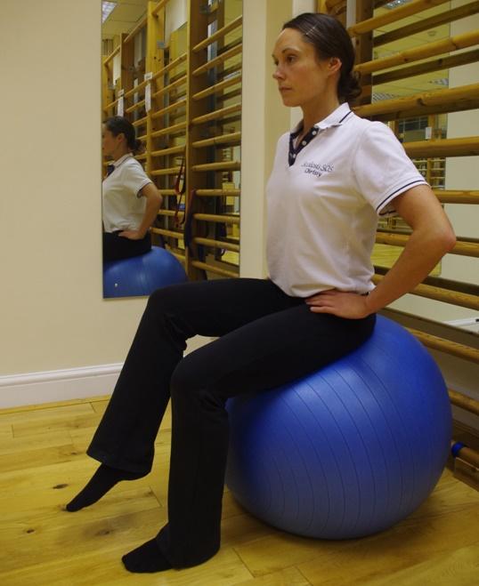 Gym Ball Balancing