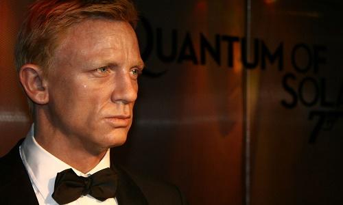 James Bond Wax Work