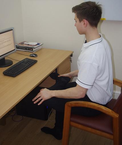 Sitting Piriformis Stretch