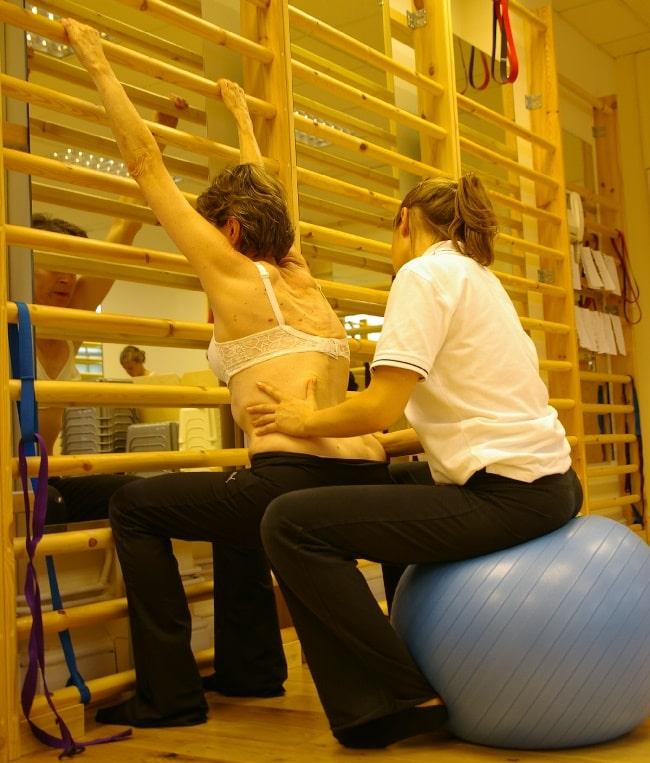 Semi-Hanging Schroth Exercise