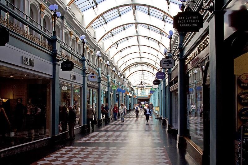 Great Western Arcade in Birmingham
