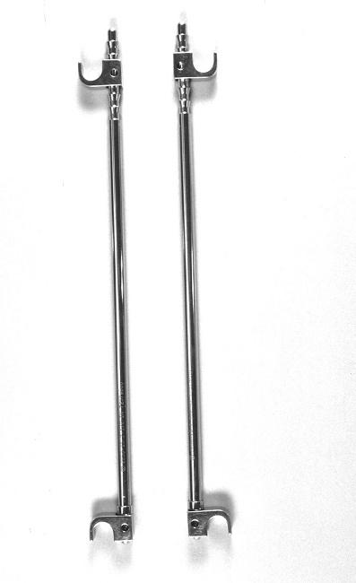 Harrington rods for scoliosis