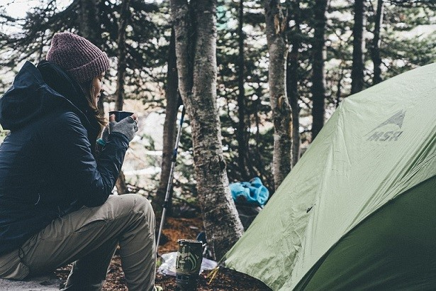 Camping with scoliosis
