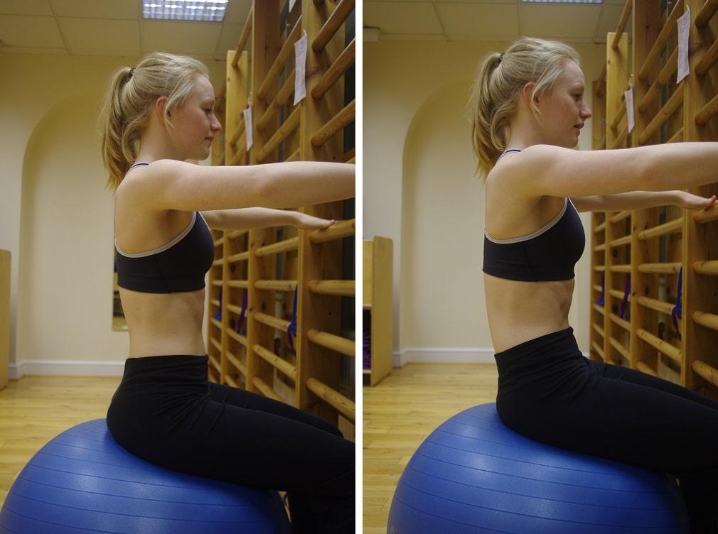 Pilates for Scoliosis - Seated Pelvic Tilt