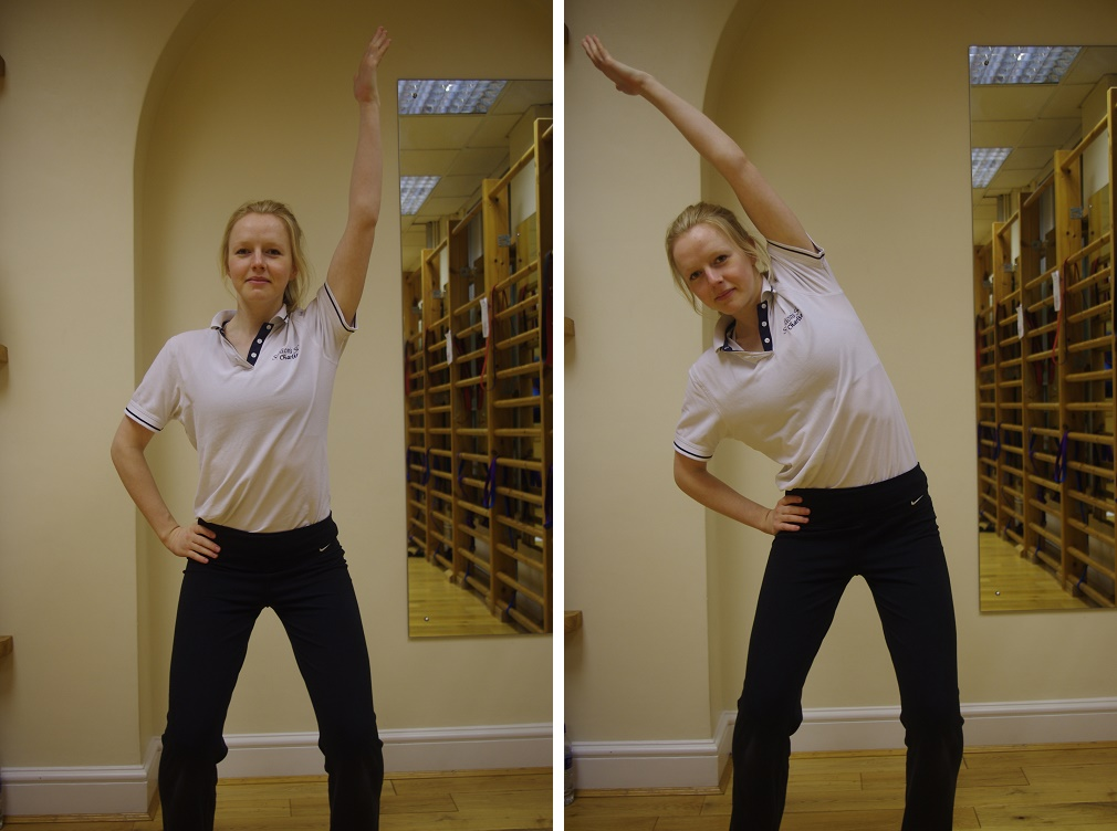Pilates for Scoliosis - Side Bend