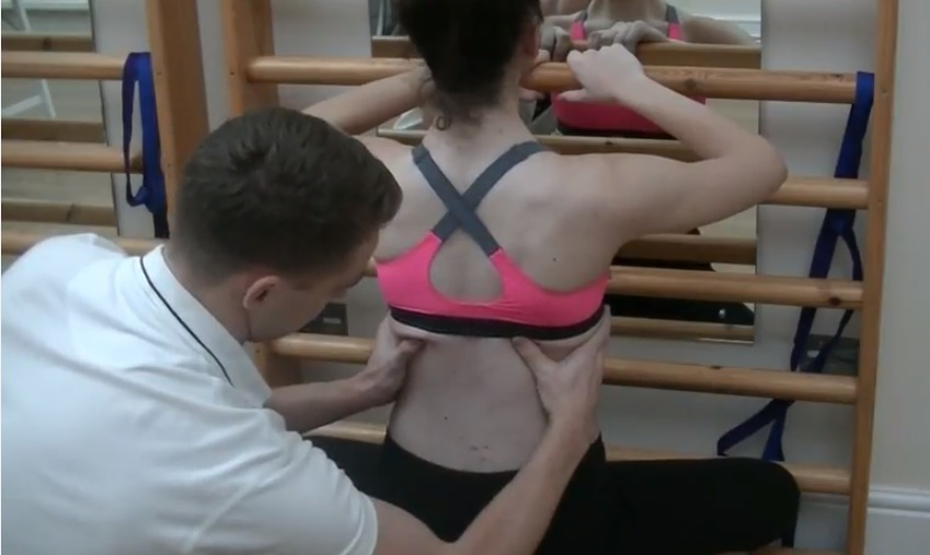 Scoliosis patient from Cyprus