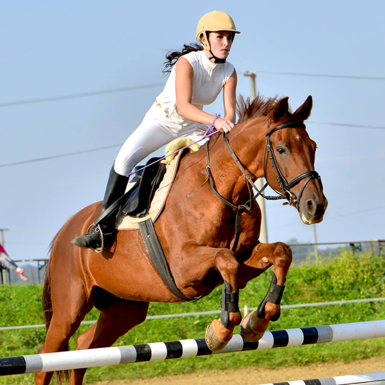 Horseback riding with scoliosis