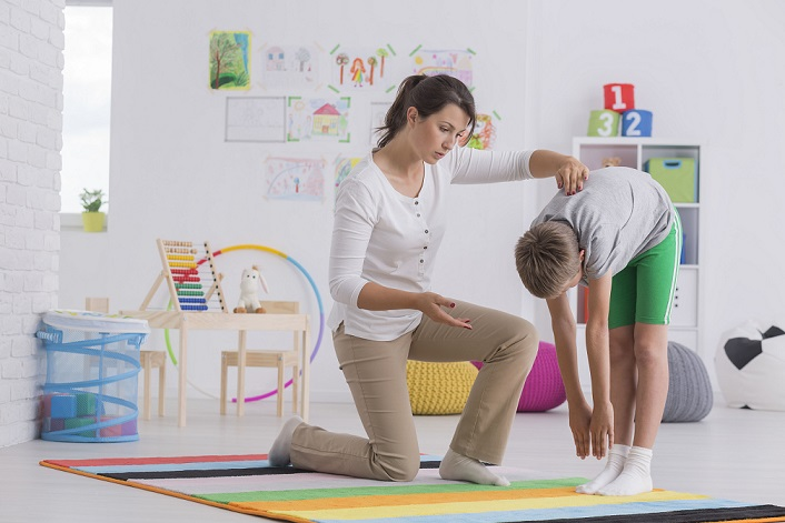 Scoliosis screening for a child